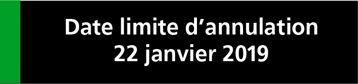 Bloc annulation